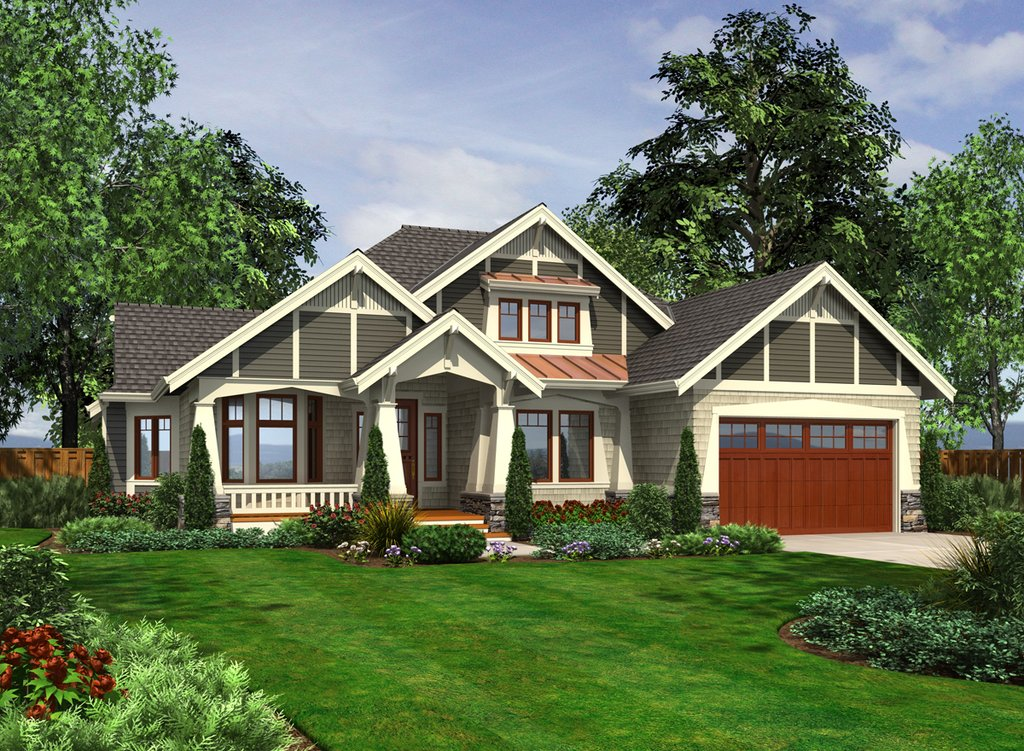 Craftsman Style House Plan 3 Beds 2 Baths 1880 Sq Ft