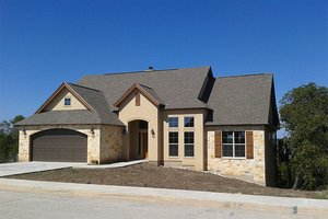 Traditional Exterior - Front Elevation Plan #17-226