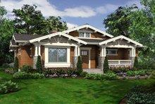 Craftsman Exterior - Front Elevation Plan #132-194