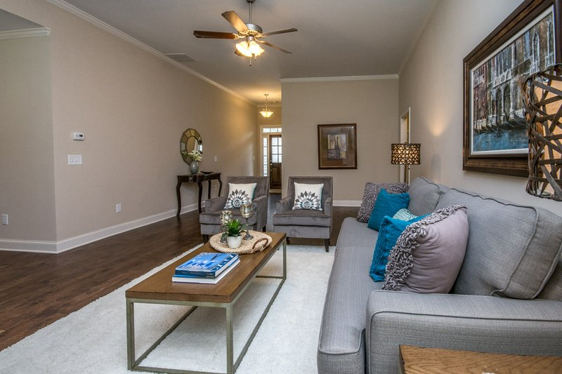 Country Interior - Family Room Plan #20-2192 - Houseplans.com