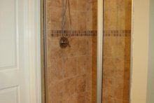 European Interior - Master Bathroom Plan #21-243