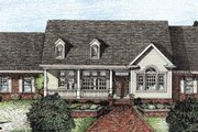 Traditional Style House Plan - 3 Beds 2 Baths 2188 Sq/Ft Plan #20-108