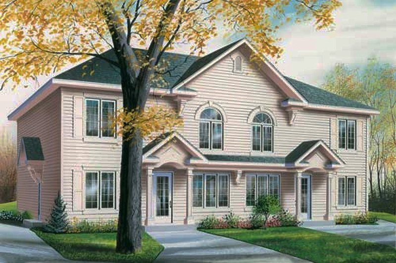 House Plan Design - Traditional Exterior - Front Elevation Plan #23-2177