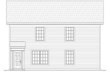 House Plan Design - Traditional Exterior - Rear Elevation Plan #932-164
