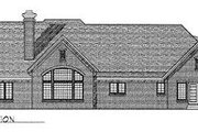 Traditional Style House Plan - 3 Beds 3 Baths 3386 Sq/Ft Plan #70-511 Exterior - Rear Elevation