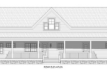 Dream House Plan - Traditional Exterior - Rear Elevation Plan #932-336