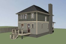 Dream House Plan - Southern Exterior - Other Elevation Plan #79-196