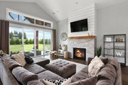 Farmhouse Style House Plan - 3 Beds 2.5 Baths 2878 Sq/Ft Plan #1070-10 Interior - Family Room