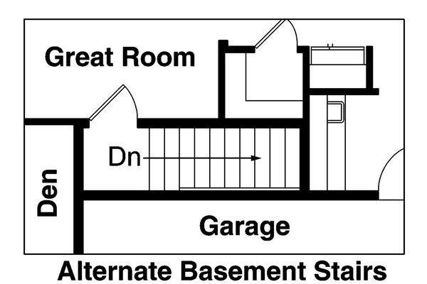 Craftsman Floor Plan - Other Floor Plan #124-765
