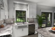 Cottage Style House Plan - 3 Beds 2 Baths 1302 Sq/Ft Plan #120-273 Interior - Kitchen