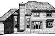 Traditional Style House Plan - 4 Beds 2.5 Baths 1855 Sq/Ft Plan #20-280 Exterior - Rear Elevation