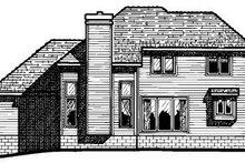 Traditional Exterior - Rear Elevation Plan #20-280