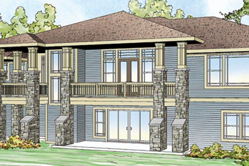 Home Plan - Prairie Exterior - Front Elevation Plan #124-873