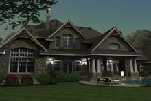 Home Plan - Craftsman Photo Plan #120-173