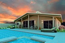 Architectural House Design - Ranch Exterior - Rear Elevation Plan #489-3