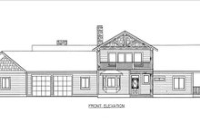 Architectural House Design - Craftsman Exterior - Front Elevation Plan #117-880
