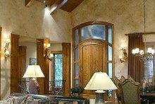 Craftsman Interior - Entry Plan #48-233