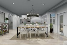 Home Plan - Victorian Interior - Dining Room Plan #1060-51