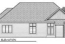 Dream House Plan - European Exterior - Rear Elevation Plan #70-707