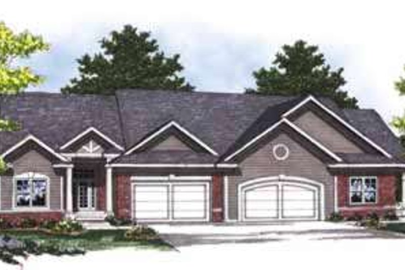 Dream House Plan - Traditional Exterior - Front Elevation Plan #70-822