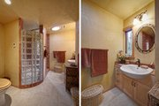 Modern Style House Plan - 2 Beds 1 Baths 800 Sq/Ft Plan #890-1 Interior - Bathroom