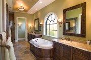 Mediterranean Style House Plan - 4 Beds 4.5 Baths 4730 Sq/Ft Plan #548-2 Interior - Master Bathroom
