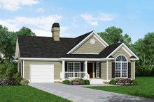House Plan Design - Ranch Exterior - Front Elevation Plan #929-234