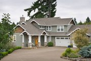 Craftsman Style House Plan - 4 Beds 3.5 Baths 3148 Sq/Ft Plan #48-235 Exterior - Front Elevation