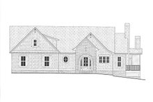 Architectural House Design - Modern Exterior - Front Elevation Plan #437-108