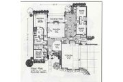 Traditional Style House Plan - 4 Beds 3 Baths 2546 Sq/Ft Plan #310-838 Floor Plan - Main Floor