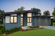 Home Plan - Contemporary Exterior - Front Elevation Plan #48-946