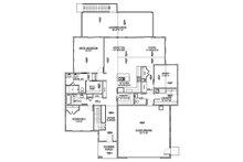 Modern Floor Plan - Main Floor Plan Plan #1073-8
