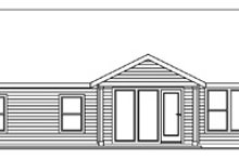 Traditional Exterior - Rear Elevation Plan #124-597