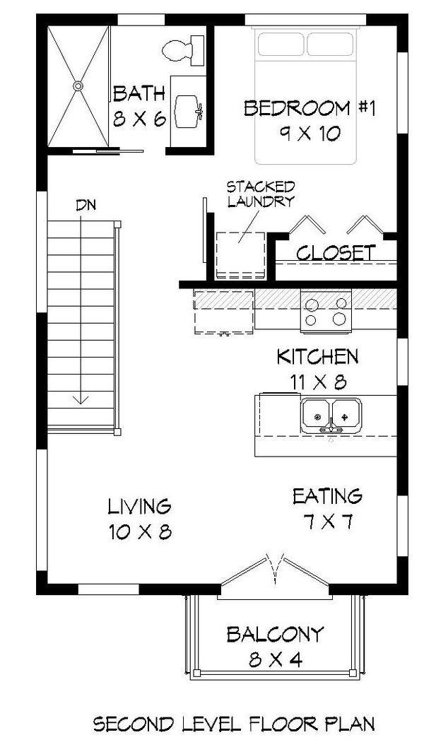Contemporary Floor Plan - Main Floor Plan Plan #932-126