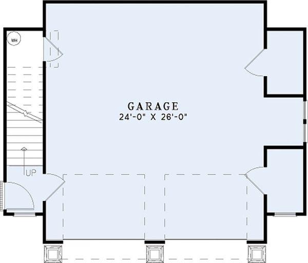 Craftsman Floor Plan - Main Floor Plan Plan #17-2578