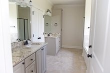 Southern Interior - Master Bathroom Plan #430-183