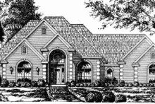 Traditional Exterior - Other Elevation Plan #40-150
