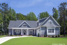 Dream House Plan - Country Exterior - Front Elevation Plan #929-670