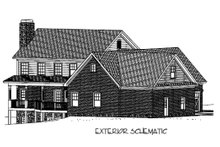 Craftsman Exterior - Other Elevation Plan #56-587