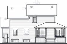 Farmhouse Exterior - Rear Elevation Plan #23-748