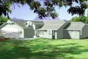 Modern Style House Plan - 3 Beds 2 Baths 2079 Sq/Ft Plan #1-1418