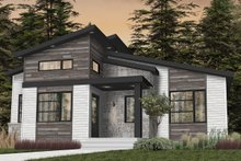 Dream House Plan - Modern Exterior - Front Elevation Plan #23-2722