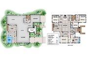Beach Style House Plan - 4 Beds 4 Baths 8117 Sq/Ft Plan #27-571