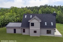 House Plan Design - Contemporary Exterior - Rear Elevation Plan #929-85