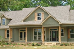 Dream House Plan - Country Exterior - Front Elevation Plan #63-432
