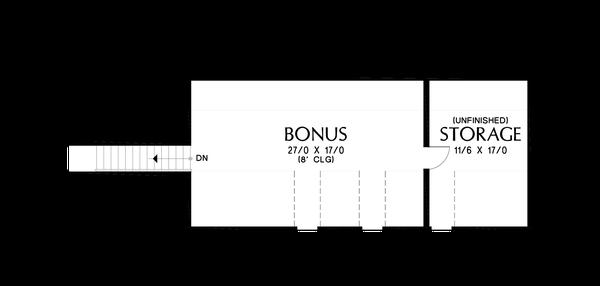 Dream House Plan - Farmhouse Floor Plan - Other Floor Plan #48-1034