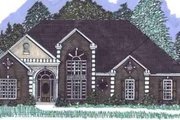European Style House Plan - 3 Beds 2.5 Baths 2115 Sq/Ft Plan #69-113