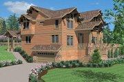 Craftsman Style House Plan - 5 Beds 3.5 Baths 4984 Sq/Ft Plan #509-24 Photo