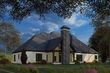 Dream House Plan - Craftsman Exterior - Rear Elevation Plan #923-172