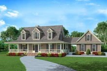 House Plan Design - Country Exterior - Front Elevation Plan #929-1062